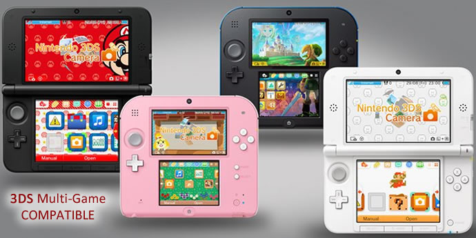 compatible with 2DS new 3DS XL